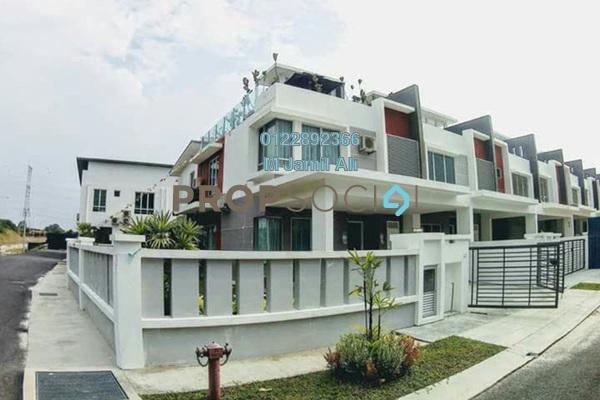 For Sale Terrace at Bandar Springhill, Sendayan Freehold Unfurnished 4R/3B 380k