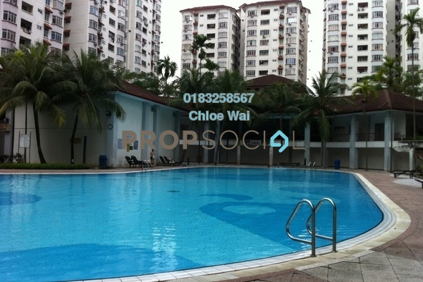 For Sale Condominium at Bukit OUG Condominium, Bukit Jalil Freehold Fully Furnished 3R/2B 400k