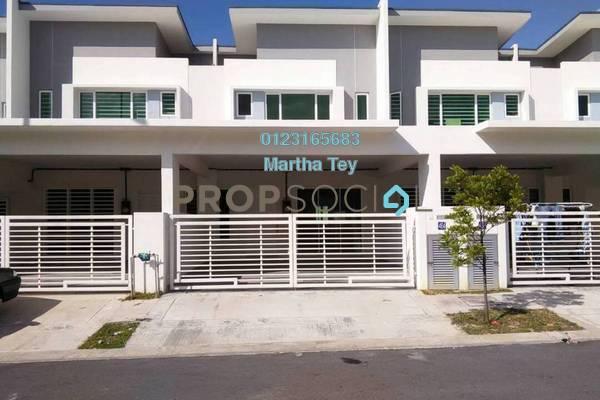 For Sale Terrace at Dextora, Bandar Sri Sendayan Freehold Unfurnished 4R/4B 490k