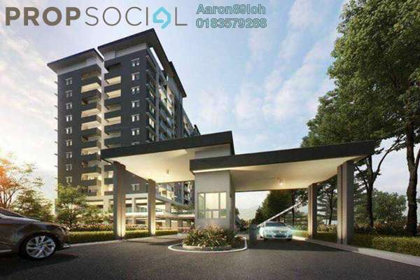 For Sale Condominium at Camellia Residences, Bandar Sungai Long Freehold Unfurnished 3R/2B 422k