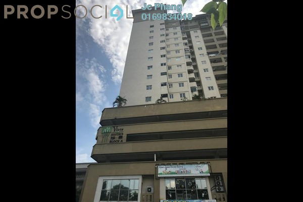 For Sale Condominium at Vista Mutiara, Kepong Freehold Semi Furnished 3R/2B 385k