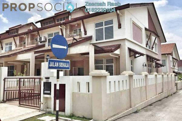 For Sale Terrace at Alam Nusantara, Setia Alam Freehold Unfurnished 4R/3B 700k