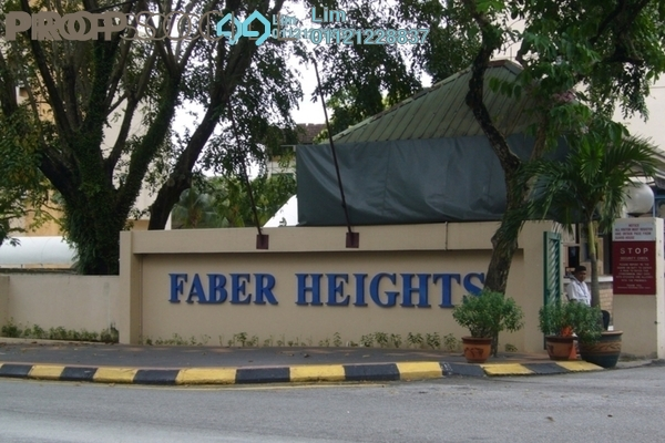 For Rent Condominium at Faber Heights, Taman Desa Freehold Fully Furnished 2R/2B 1.65k
