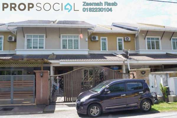 For Sale Terrace at Taman Suria Tropika, Bandar Putra Permai Freehold Semi Furnished 4R/3B 670k