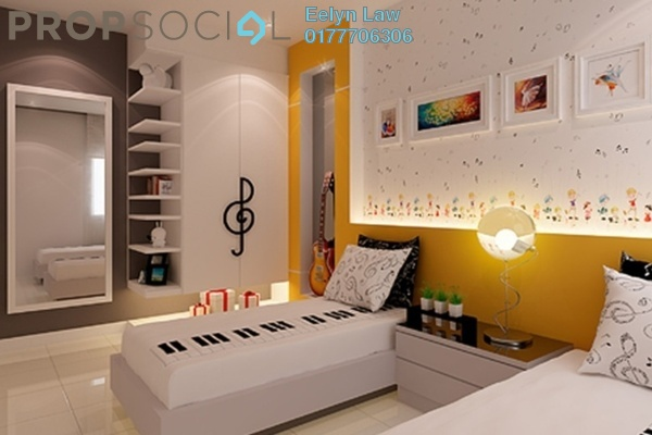 For Rent Condominium at Desa Green Serviced Apartment, Taman Desa Freehold Semi Furnished 3R/2B 1.8k