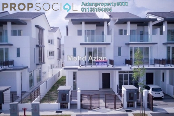 For Sale Terrace at Aquamarine, Taman Putra Prima Freehold Semi Furnished 5R/5B 1.3m