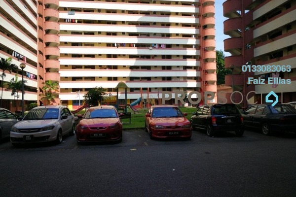For Sale Apartment at Sri Tioman II, Setapak Freehold Unfurnished 2R/2B 225k