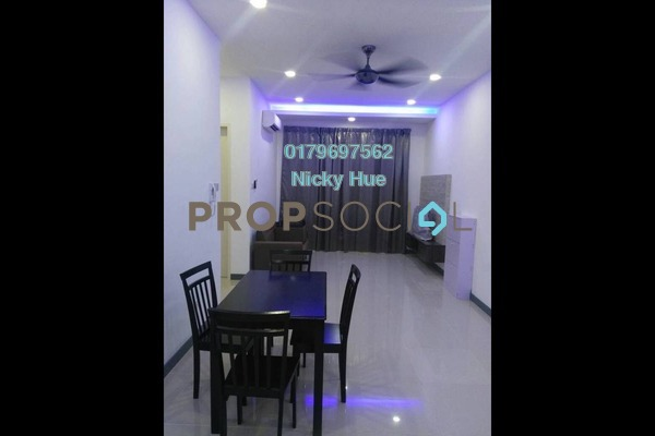 For Rent Condominium at South View, Bangsar South Freehold Fully Furnished 3R/2B 3.3k