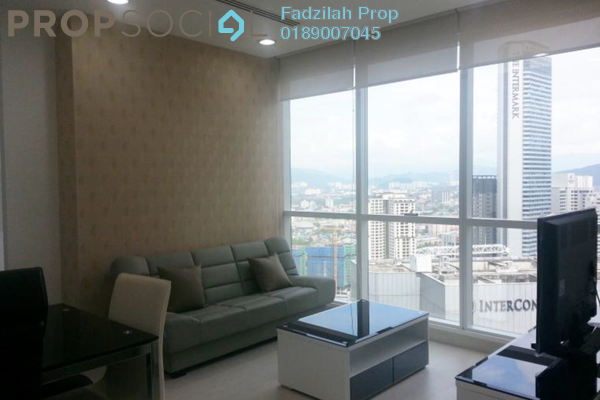 For Rent Serviced Residence at Binjai 8, KLCC Freehold Fully Furnished 1R/1B 3.2k
