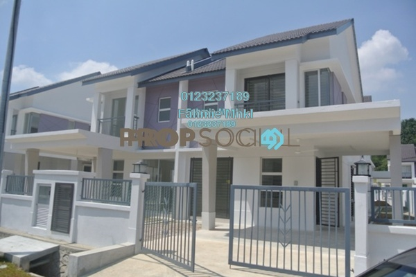 For Rent Terrace at Bandar Puncak Alam, Kuala Selangor Freehold Unfurnished 4R/3B 1.1k