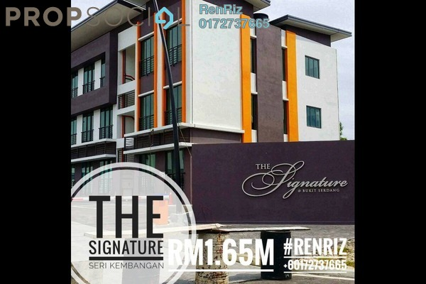 For Sale Semi-Detached at The Signature, Seri Kembangan Freehold Unfurnished 5R/4B 1.65m