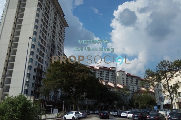 For Rent SoHo/Studio at Ritze Perdana 1, Damansara Perdana Freehold Fully Furnished 0R/1B 1.4k