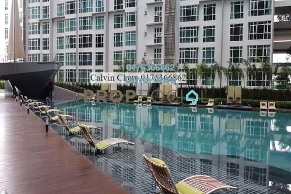 For Sale Serviced Residence at Central Residence, Sungai Besi Freehold Unfurnished 3R/2B 394k