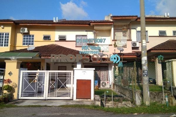 For Sale Link at Section 8, Bandar Mahkota Cheras Freehold Semi Furnished 4R/3B 470k