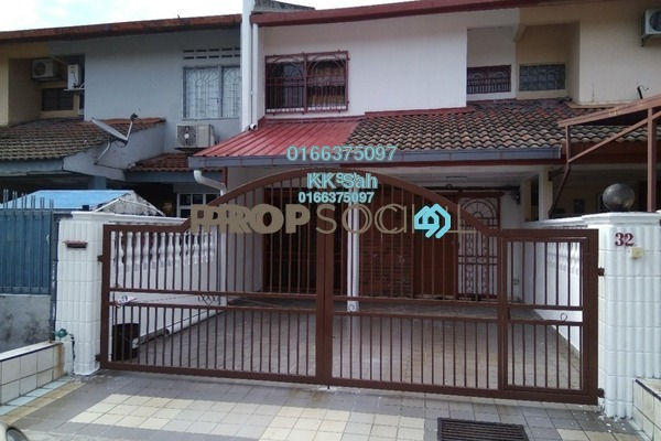 For Sale Terrace at Taman Muhibbah, Seri Kembangan Freehold Semi Furnished 4R/2B 530k