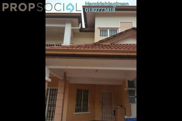 For Rent Terrace at Desa Alam, Shah Alam Freehold Semi Furnished 4R/3B 1.8k