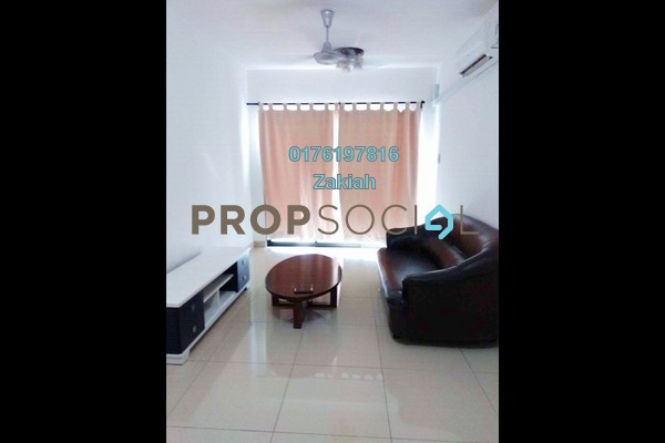 For Rent Serviced Residence at Alam Sanjung, Shah Alam Freehold Fully Furnished 3R/2B 1.6k