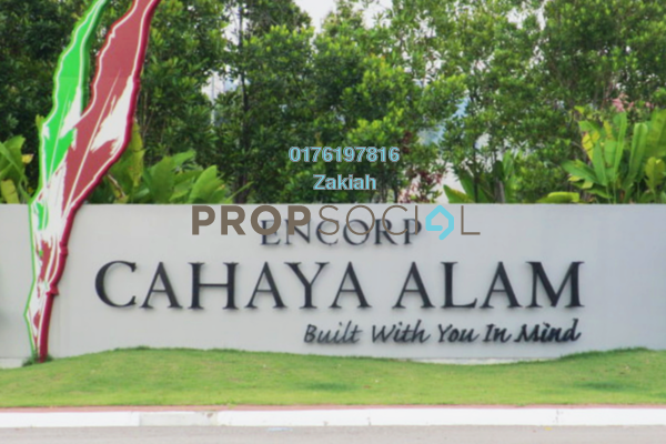 For Rent Semi-Detached at Cahaya Alam, Shah Alam Freehold Unfurnished 4R/5B 3.5k