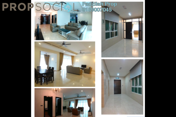 For Rent Condominium at The Pearl, KLCC Freehold Semi Furnished 3R/5B 7k