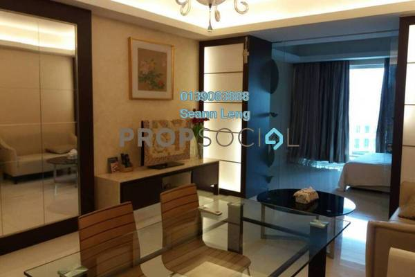 For Rent Condominium at Plaza Damas 3, Sri Hartamas Freehold Fully Furnished 1R/1B 2k