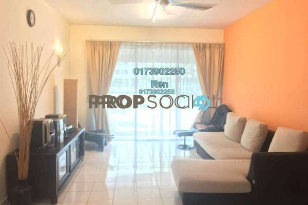 For Rent Condominium at Riana Green, Tropicana Freehold Fully Furnished 2R/1B 1.8k