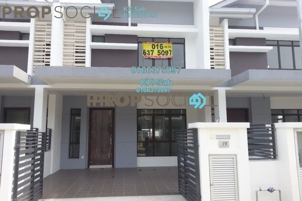 For Sale Terrace at M Residence 2, Rawang Freehold Semi Furnished 4R/3B 478k