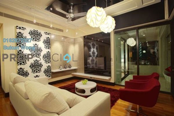 For Rent Condominium at The Binjai On The Park, KLCC Freehold Fully Furnished 3R/3B 14k