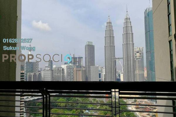 For Rent Condominium at The Binjai On The Park, KLCC Freehold Semi Furnished 3R/3B 13k