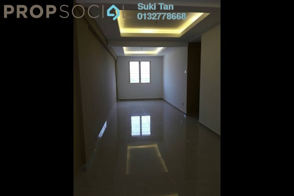 For Sale Serviced Residence at Taman Megah, Kepong Freehold Semi Furnished 3R/2B 205k