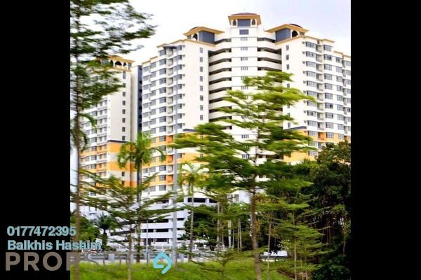 For Sale Apartment at Mutiara Anggerik, Shah Alam Freehold Semi Furnished 3R/2B 400k