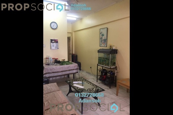 For Sale Apartment at Greenview Apartment, Kepong Freehold Semi Furnished 3R/2B 188k