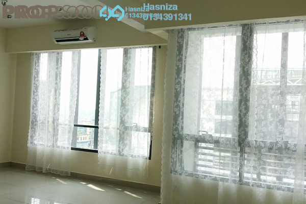 For Rent SoHo/Studio at Flexis @ One South, Seri Kembangan Freehold Semi Furnished 0R/1B 1.3k