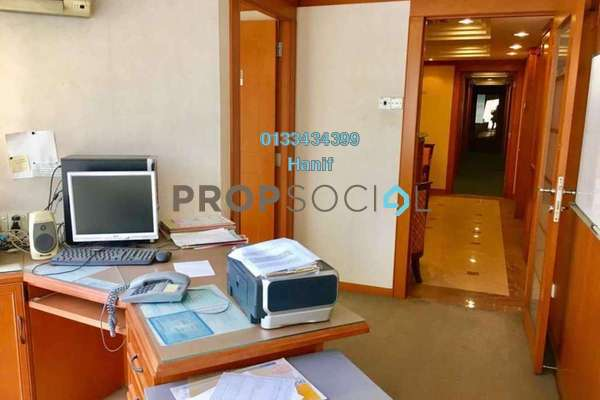 For Sale Office at Perdana Business Centre, Damansara Perdana Leasehold Fully Furnished 0R/0B 780k