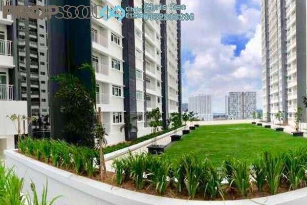 For Sale Condominium at V-Residensi 2, Shah Alam Freehold Semi Furnished 3R/3B 570k