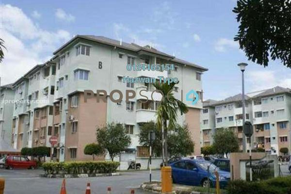 For Sale Apartment at Sutera Apartment, Kajang Freehold Unfurnished 3R/2B 190k