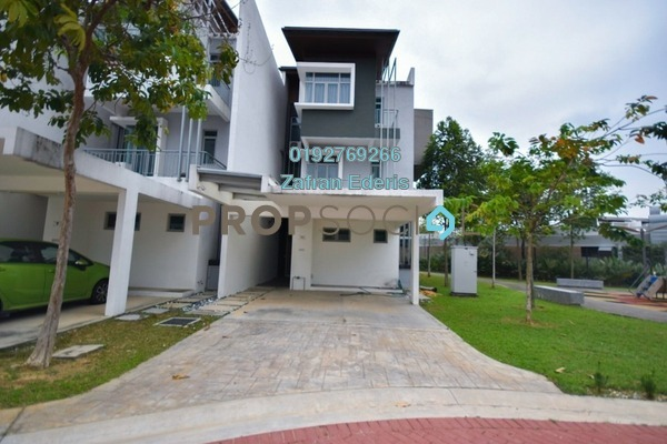 For Sale Superlink at Symphony Hills, Cyberjaya Freehold Semi Furnished 4R/5B 1.42m