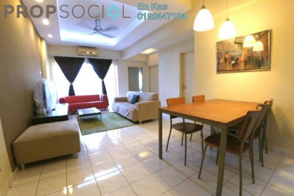 For Sale Condominium at Jalil Damai, Bukit Jalil Freehold Fully Furnished 3R/2B 465k