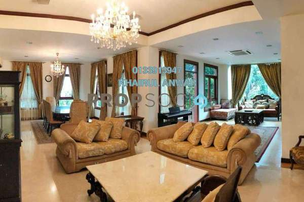 For Sale Bungalow at Sri Bukit Persekutuan, Bangsar Freehold Fully Furnished 7R/6B 6.8m