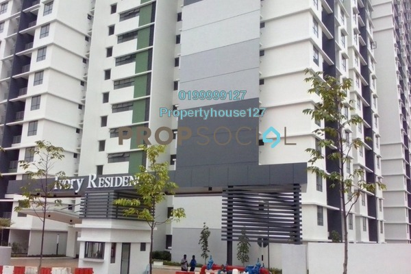 For Rent Condominium at Ivory Residence, Kajang Freehold Semi Furnished 3R/2B 1.1k