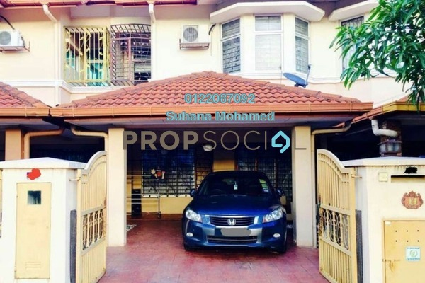 For Sale Terrace at Section 24, Shah Alam Freehold Semi Furnished 4R/3B 550k