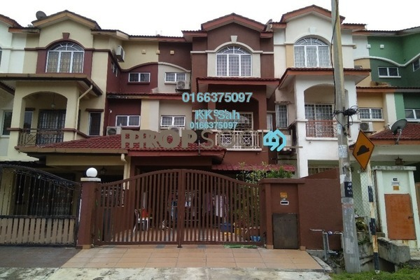 For Sale Link at Section 1, Bandar Mahkota Cheras Freehold Semi Furnished 5R/4B 750k
