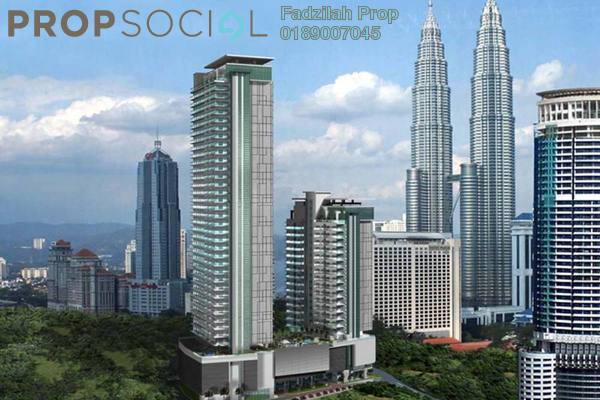 For Sale Condominium at 188 Suites, KLCC Freehold Fully Furnished 1R/1B 1.1m