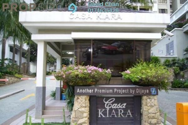 For Sale Condominium at Casa Kiara I, Mont Kiara Freehold Fully Furnished 3R/2B 730k