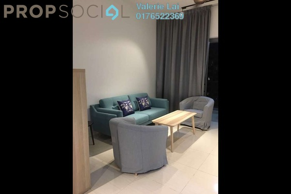 For Rent Condominium at Reflection Residences, Mutiara Damansara Freehold Fully Furnished 2R/2B 3k