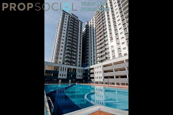 For Sale Condominium at Zefer Hill Residence, Bandar Puchong Jaya Freehold Unfurnished 4R/4B 776k