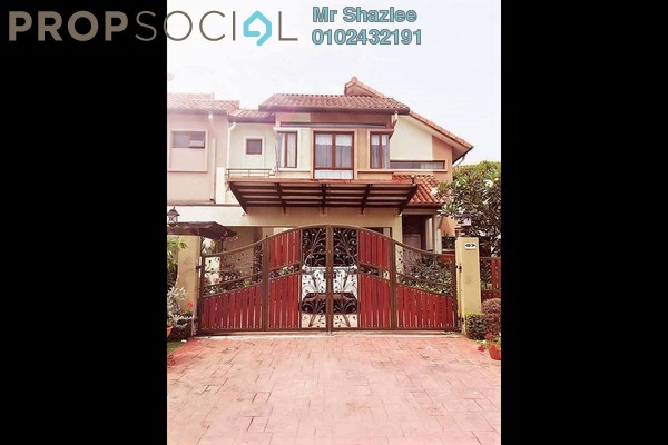 For Sale Semi-Detached at Lagenda 2, Bukit Jelutong Freehold Fully Furnished 6R/6B 2.2m