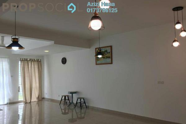 For Sale Terrace at Ariza, Elmina Gardens Freehold Semi Furnished 4R/3B 880k