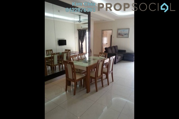 For Rent Condominium at Pelangi Utama, Bandar Utama Freehold Fully Furnished 3R/2B 2.2k