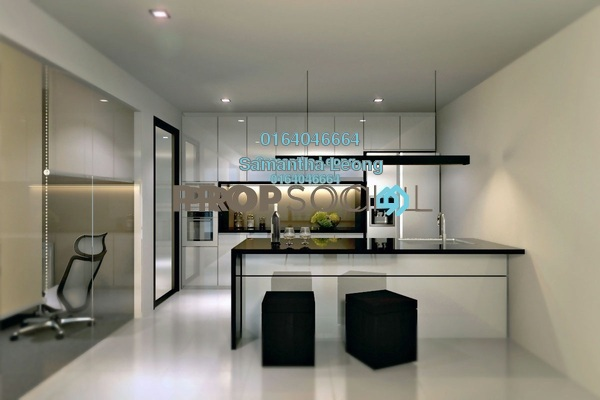 For Sale Condominium at H2O Residences, Ara Damansara Freehold Semi Furnished 1R/1B 387k