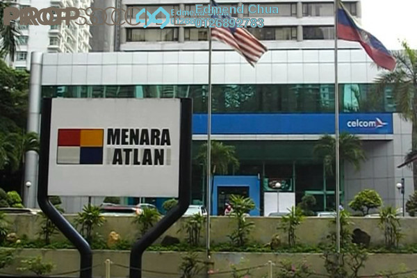 For Rent Office at Menara Atlan, KLCC Freehold Semi Furnished 0R/0B 11.2k